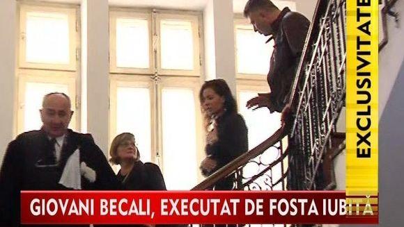 Giovani Becali executat silit de fosta iubita!