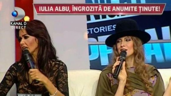 I-a criticat dur pe mirii Raluca si Pepe, dar vezi ce spune Iulia Albu despre tinutele Oanei Zavoranu! Nu o sa-ti vina sa crezi!