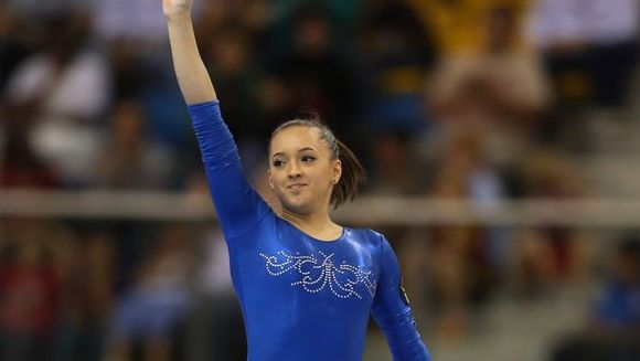 Larisa Iordache a castigat medalia de argint la sol la Campionatele Mondiale de gimnastica