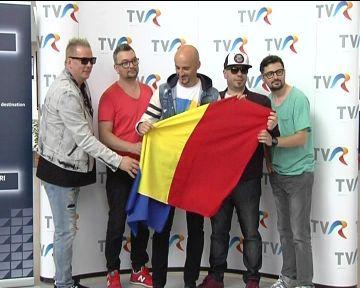 Calin Goia a plecat cu inima stransa spre Viena, la Eurovision! Solistul are laringita