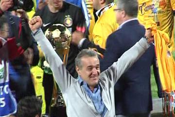 Steaua este din nou campioana Romaniei la fotbal. Echipa lui Gigi Becali a castigat cel de-al 26-lea titlu din istorie