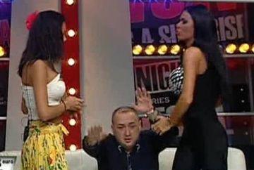 Bataie in platou intre Renata si Beyonce de Romania! S-au tras de par si s-au lovit cu palmele! Leo si-a luat si el un pumn in barba! - VIDEO monumental aici!