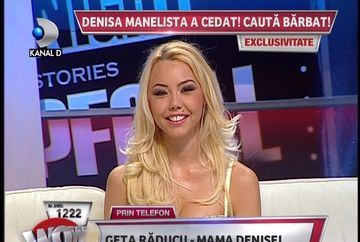 Frumoasa ca un top-model, dar modesta si cuminte ca un inger! Avem imagini unice cu Denisa Manelista vorbind despre planurile ei de viitor. Din pacate...