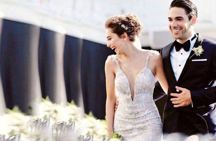 ACCESORIILE pe care Nihan le-a purtat la nunta cu Kemal au avut puternice accente simbolice! Uite ce a purtat in par actrita Neslihan Atagul! Cadrul in care s-a desfasurat nunta a fost unul de vis