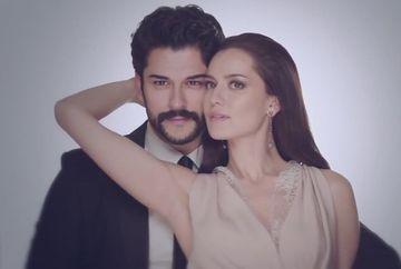 IMAGINI IN PREMIERA cu Burak Ozcivit si Fahriye Evcen de la Noaptea de Henna, obiceiul dinaintea nuntii!