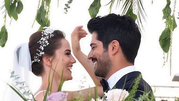 Cea mai impresionanta poza de la nunta lui Burak Ozcivit cu Fahriye Evcen! A strans 1.8 milioane de like-uri in mai putin de 24 de ore