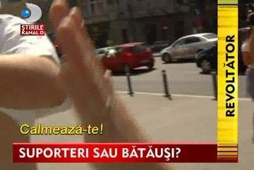 SCANDAL inainte de meci! Suporterii huligani ai Legiei Varsovia AU ATACAT echipa Stirilor Kanal D