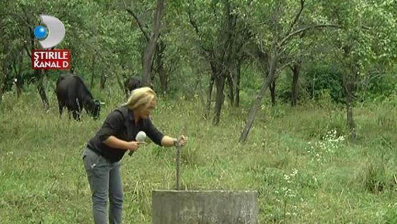 Cod galben de canicula in sudul Romaniei! Fantanile au secat, iar oamenii se roaga la Dumnezeu sa nu ramana fara apa