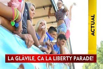 Liberty Parade de Glavile! Satul din Valcea care se bate cu statiunea Mamaia in petreceri!