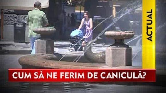 Romania SE TOPESTE! Cum putem sa ne ferim de canicula?