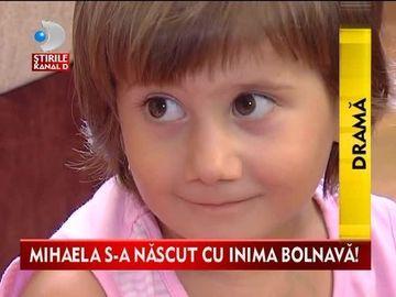 Are doar 4 ani, insa s-a nascut cu o inima bolnava! Mihaela ARE NEVOIE de AJUTORUL vostru VIDEO