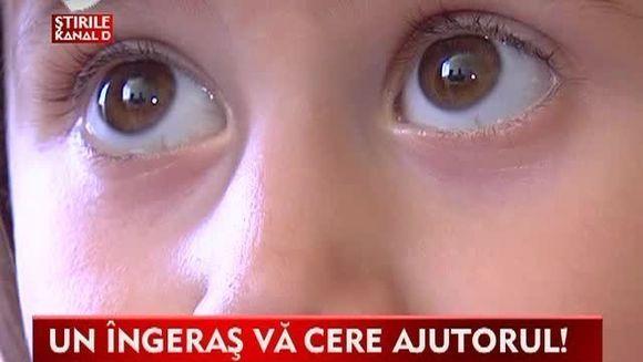 Un ingeras VA CERE AJUTORUL! Mihaela are numai 4 ani si s-a nascut cu o inima bolnava