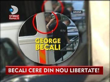 Gigi Becali cere din nou libertate! Instanta decide astazi daca ii va permite un regim de detentie deschis VIDEO