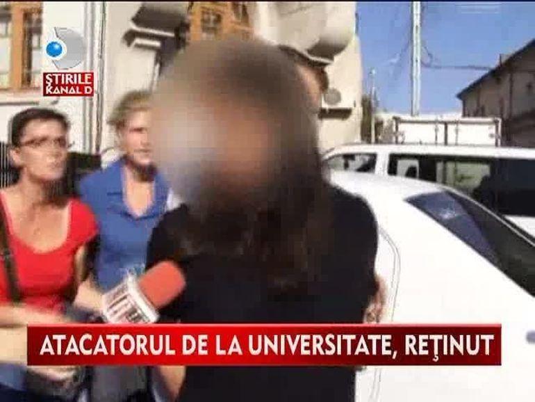 Atacatorul de la Universitatea din Iasi a fost ARESTAT! Vezi ce DECLARATII HALUCINANTE a facut in fata anchetatorilor VIDEO