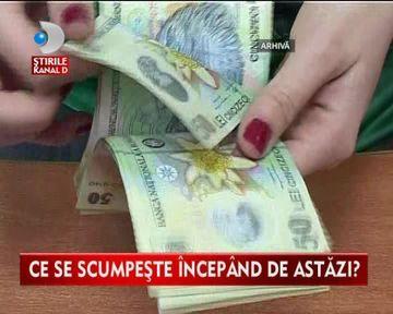 VESTI BUNE! Salariul minim pe economie a crescut VIDEO