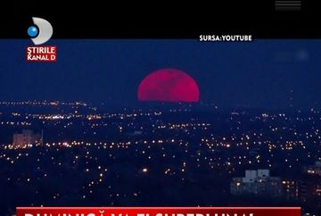 SUPERLUNA, un fenomen in care luna straluceste mai tare decat in oricare alta noapte VIDEO