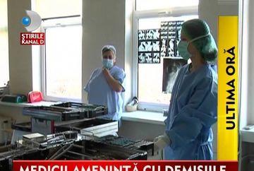 Se anunta GREVA DE PROPORTII in sistemul sanitar VIDEO