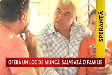 "Christian Sabbagh a initiat campania ""Ofera un loc de munca si salveaza o familie!"" VIDEO"