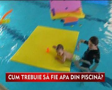 CUM trebuie sa fie apa din piscina ca micutii sa se balaceasca in siguranta VIDEO