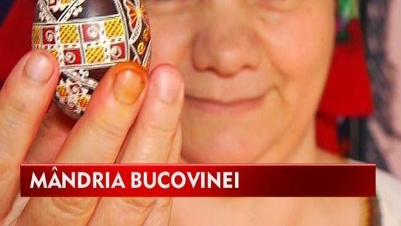 BUCOVINENII pretuiesc arta! Cele mai frumoase oua incondeiate ies din mainile lor VIDEO