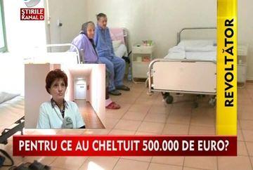 REVOLTATOR! Bolnavii dintr-un spital proaspat renovat vor fi mutati VIDEO