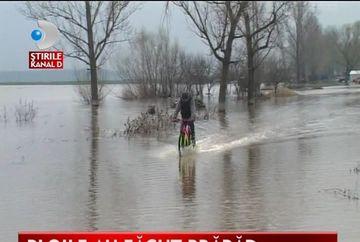 Ploile AU FACUT PRAPAD in centrul tarii VIDEO