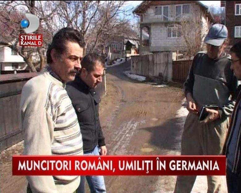 """Ne tin ca pe caini"": MARTURIILE INCREDIBILE ale muncitorilor romani UMILITI in Germania VIDEO"