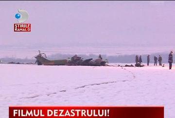 DEZASTRU AVIATIC si vieti curmate! Un elicopter militar s-a PRABUSIT pe un camp VIDEO