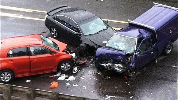 ACCIDENT TRAGIC la Cluj. Cinci persoane au murit, circulatia este blocata pe DN1