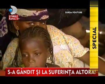 IMPRESIONAT de soarta copiilor din Niger, un om de afaceri din Timisoara le-a trimis un DAR NEOBISNUIT VIDEO