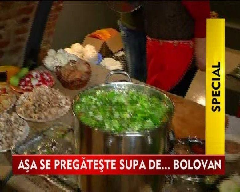 CIORBA de BOLOVANI, o DELICATESA la mare cautare in Elvetia VIDEO