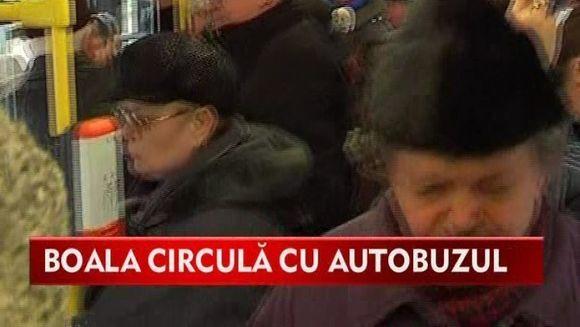 ATENTIE la bolile pe care le poti lua din autobuz! VIDEO
