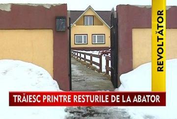 Localnicii dintr-o comuna nemteana, EXASPERATI din cauza unui abator! VIDEO