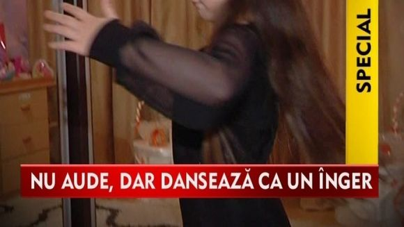 DRAMA unui copil talentat: Alexia sufera de hipoacuzie insa lupta sa devina o mare dansatoare VIDEO