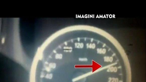Vitezomanul Gica din Strehaia! La 17 ani conduce un bolid de lux cu 200km/h VIDEO
