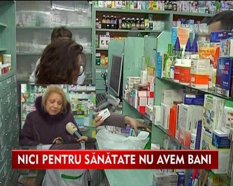 Bolnavii pot cumpara medicamente in rate! VIDEO