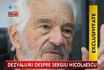 Avea Sergiu Nicolaescu intr-adevar un copil? Vezi ce spune bunul lui prieten, fostul general Victor Stanculescu VIDEO