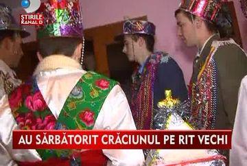 Craciun fericit! Sute de mii de ucrainieni din satele din Maramures sarbatoresc Craciunul pe rit vechi VIDEO