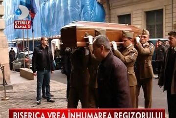 Trupul neinsufletit al lui Sergiu Nicolaescu va fi incinerat. Cum comenteaza Arhiepiscopia ultima dorinta a regizorului VIDEO