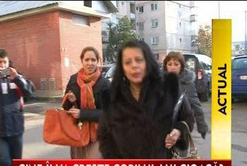 MAMA Elodiei vrea sa ia copilul lui Cristian Cioaca in custodie VIDEO