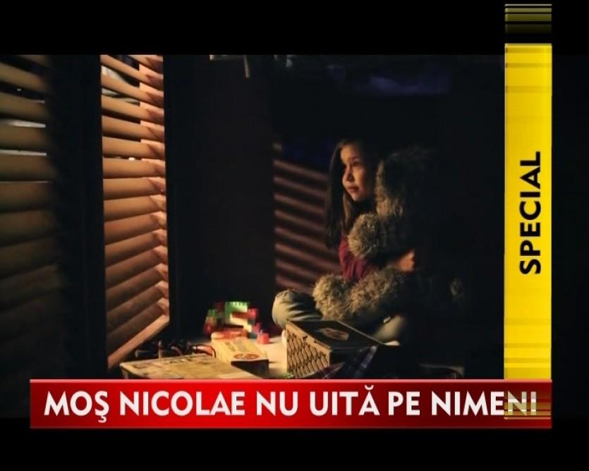 Asociatia Telefonul Copilului a transformat ziua lui Mos Nicolae intr-o zi fericita pentru mai multi copii din Gruiu VIDEO