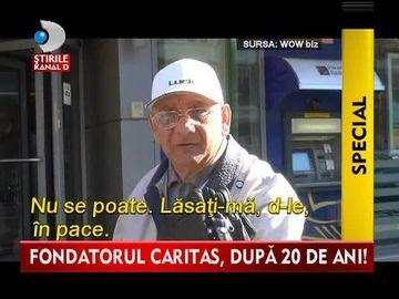 L-AM GASIT pe Ioan Stoica, fondatorul Caritas, cel care le-a furat romanilor MILIARDE de lei. Imagini IN EXCLUSIVITATE VIDEO