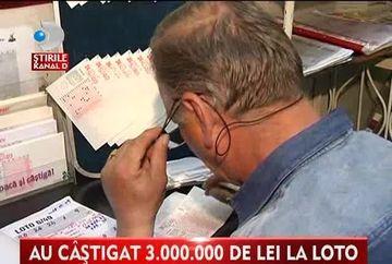 Are 71 de ani si a castigat 3 MILIOANE de lei la loto. Vezi ce va face cu banii VIDEO