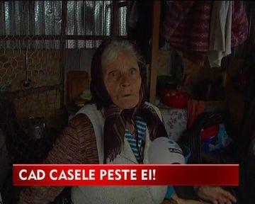 Risca sa moara striviti in propriile locuinte! Drama oamenilor carora li s-au crapat casele din cauza exploatarii de sare VIDEO