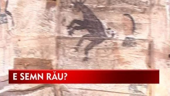 DIAVOLUL pictat intr-o biserica din Cluj VIDEO
