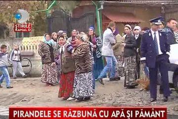 AMAZOANELE din Strehaia! Pirandele au facut un scandal monstru de fata cu mascatii VIDEO