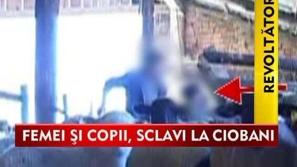 STIREA ZILEI: SCLAVIE la mai multe stane din Galati! Copiii erau pusi la munci crunte iar femeile erau violate VIDEO