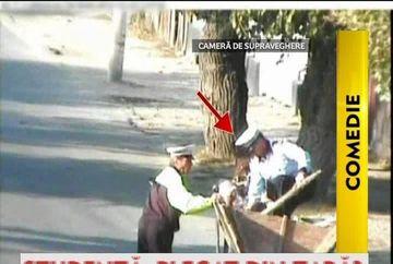 VIDEO DE SENZATIE! CUM PRIND politistii olteni infractorii cu caruta