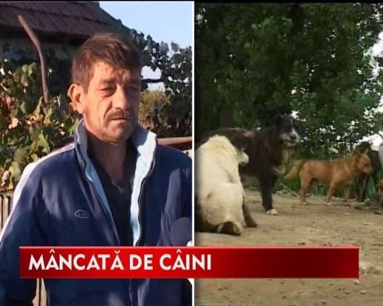 O batrana de 71 de ani a fost omorata de cainii unui vecin VIDEO