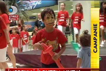 """Campania """"Ajuta un copil cu autism sa mearga la scoala"""" continua! VIDEO"""